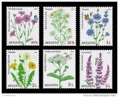 Moldova 2016 Mih. 951/56 Definitive Issue. Flora. Wildflowers MNH ** - Moldavië