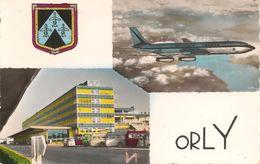 CPA-1960-AEROPORT DE PARIS-ORLY-AVION BOEING 707 AIR FRANCE-TBE - Aeródromos