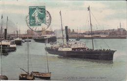 CPA (76) LE HAVRE.  Départ Du Bateau à Vapeur. ..G693 - Le Havre