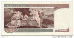 ITALY P. 104 20000 L 1975 UNC - [ 2] 1946-… Republik