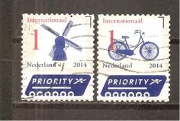 Holanda-Holland  Nº Yvert  3130-34 (Usado) (o) - Periodo 2013-... (Willem-Alexander)