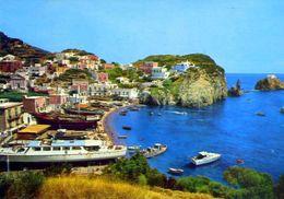 Ponza - Latina - Spiaggia Di S.maria E Casa Che Ospitò Mussolini - 56 -  Formato Grande Viaggiata – E 2 - Latina