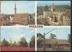 °°° 5401 - ESTONIA - TALLIN - VIEWS - 1988 With Stamps °°° - Estonia