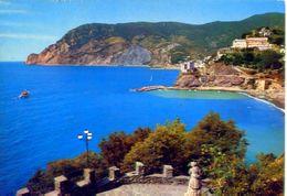Monterosso E Punta Mesco - Scorcio Panoramico Dall'hotel Porto Roca - 0256 - Formato Grande Viaggiata Mancante Di Affran - Cuneo