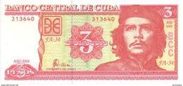 CUBA  3 Pesos  Emission De 2004   Pick 127   ***** BILLET  NEUF ***** - Cuba
