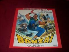 BANDE DE FILM   ° BANZAI  AVEC COLUCHE FILM DE CLAUDE ZIDI  MUSIQUE DE VLADIMIR COSMA - Filmmusik