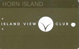 Island View Casino Gulfport, MS - BLANK Slot Card - No Mfg Mark - Casino Cards