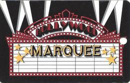 Hollywood Casino - Shreveport, LA - BLANK Marquee Level Slot Card - Casino Cards