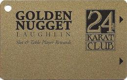 Golden Nugget Casino - Laughlin, NV - BLANK Slot Card - Casino Cards