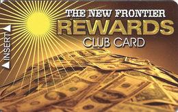 Frontier Casino Las Vegas, NV - BLANK Slot Card - Www.frontierlv.com Web Address - Casino Cards