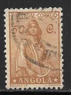 Angola, Scott # 252 Used Ceres, 1932 - Angola