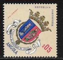 Angola, Scott # 448 MNH Coat Of Arms, 1963 - Angola