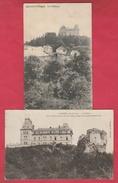 Agimont - Le Château ... 2 Cartes Postales ( Voir Verso ) - Hastière