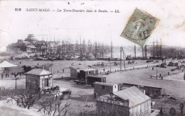 35 - Saint Malo -  Les Terre Neuviers Dans Le Bassin - Saint Malo