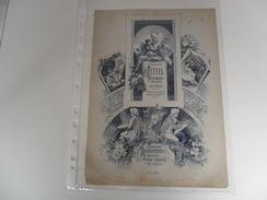 Document ( 176 ) Graphische Munsterblätter  Beilage Der Freien Künstle Wien & Leipzig - Wiesbaden - Sonnenberg Etiquette - Publicité