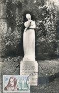 D31061 CARTE MAXIMUM CARD FD 1959 FRANCE - POET MARCELINE DESBORDES STATUE DOUAI CP ORIGINAL - Ecrivains