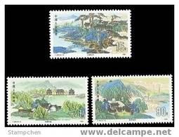 China 1991 T164 Summer Resort Stamps Bridge Mount Pine Lake - Neufs