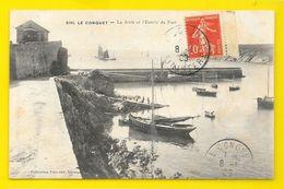 LE CONQUET La Jetée Et L'Entrée Du Port (Villard) Finistère (29) - Le Conquet