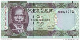 SÜDSUDAN 1 POUND ND (2011) P-5 I (BFR)  [ SS101a ] - South Sudan