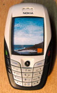 ECHANTILLON SANS EMPLOI FACTICE TELEPHONE PORTABLE NOKIA ORANGE 6600 - Telefonía