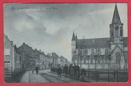 Deinze / Deynze - Le Pont De La Lys Et Eglise - 1908 - S.B.P. ( Verso Zien ) - Deinze