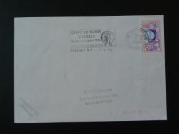 90 Belfort Coupe Du Monde échecs Chess World Cup 1988 - Flamme Sur Lettre Postmark On Cover - Schaken