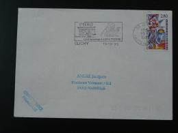 92 Hauts De Seine Clichy Louis Pasteur 1995 - Flamme Sur Lettre Postmark On Cover - Louis Pasteur