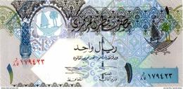 QATAR 1 RIYAL ND (2003) P-20 UNC [QA207a] - Qatar