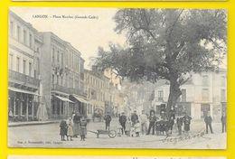 LANGON Rare Place Maubec (Grands Cafés) (Roumazeille) Gironde (33) - Langon