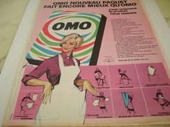 ANCIENNE PUBLICITE PAQUET OMO 1961 - Photography