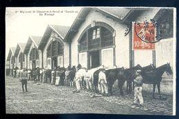 Cpa Militaria 1er Régiment De Chasseurs à Cheval 1 Er Escadron -- Le Pansage   Sep17-13 - Regiments