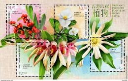 Hong Kong - 2017 - Rare And Precious Plants In Hong Kong - Mint Souvenir Sheet - 1997-... Région Administrative Chinoise