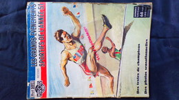 ATLHETISME- BUT CLUB-MIROIR SPORTS- 1951- PAUL ORDNER- ZATOPEK-HELSINKI-MIMOUN-DAMITIO-EL MABROUK-WIMILLE-MARTINI - Sport