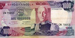 BANCONOTA ANGOLA-1000 ESCUDOS -1972 P-103 - Angola