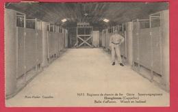 Hoogboom ( Kapellen ) - Génie Spoorwegregiment - Wasch En Badzaal ... Soldat - 1928 ( Verso Zien ) - Casernes