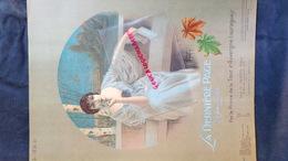 PARTITION MUSICALE-LA DERNIERE PAGE- VALSE- PRINCE TOUR D' AUVERGNE LAURAGUAIS-OTTO JUNNE LEIPZIG-E. DEMETS PARIS 1914 - Scores & Partitions