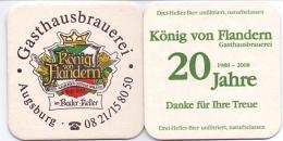 #D158-200 Viltje Gasthausbrauerei König Von Flandern - Sous-bocks