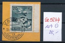 Liechtenstein Nr.  109  O  ( Se5244 ) Siehe Bild ! - Liechtenstein