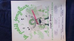 PARTITION MUSICALE-LE PETIT JONGLEUR- JOSEPH STRIMER-PIANO-LUPA-CLOCHETTES-ENFANT JONGLAGE-DURAND PARIS-1950 - Scores & Partitions