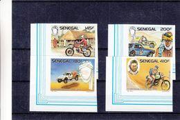 Senegal - Yvert 750 / 53 ** - MNH - NON Dentelés - Motos - Voitures - Valeur ± 25 Euros - Senegal (1960-...)