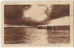 MISSIONI DELLA CONSOLATA - TRAMONTO SULL'OCEANO INDIANO DA SPIAGGIA SOMALA - ANNI'30 - NUOVA NV - Missioni