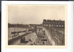 Nantes Photographie  Vers La Poissonnerie Et Le Pont De La Belle Croix  - Tirage Tardif D'une Vue 19 è S. - Photos