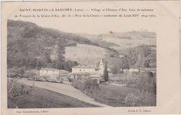 (R6) LOIRE , SAINT MARTIN LA SAUVETE , Lieu De Naissance De François De La Chaix D'Aix , Confesseur De Louis 14 - Frankreich