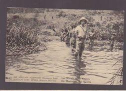 Est Africain Allemand - Occupation Belge - Les Marais De La Kagera - Entier Postal - Belgian Congo - Other