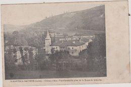 (R6) LOIRE ,SAINT MARTIN LA SAUVETE ,  Chateau D'Aix - Frankreich