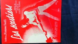 PARTITION MUSICALE-LES SOUTIERS-CHARBON-MARIANNE OSWALD-GASTON BONHEUR-JOSEPH KOSMA-WURTH 1936- MAX ESCHIG PARIS - Scores & Partitions
