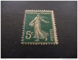 TIMBRE  DE  FRANCE     N  137J   NEUF  LUXE**   SEMEUSE  1907   COTE  18,50  EUROS - France