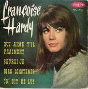 """Françoise Hardy 45T 4 Titres """"Qui Aime T'il Vraiment"""" - Sonstige - Franz. Chansons"""