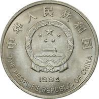 CHINA, PEOPLE'S REPUBLIC, Yuan, 1994, SUP+, Nickel Clad Steel, KM:610 - Chine