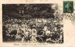 RIBERAC FELIBREE DU 20 JUIN 1909 LA COUR D AMOUR - Riberac
